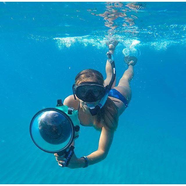 #miolagirls are underwater photographers