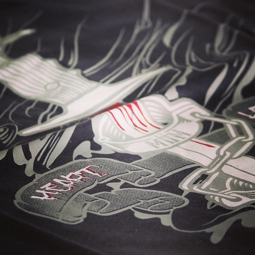 #inked  #miumtoys  #newcollection  #silkscreen  #serigrafia  #illustration  #tshirt
