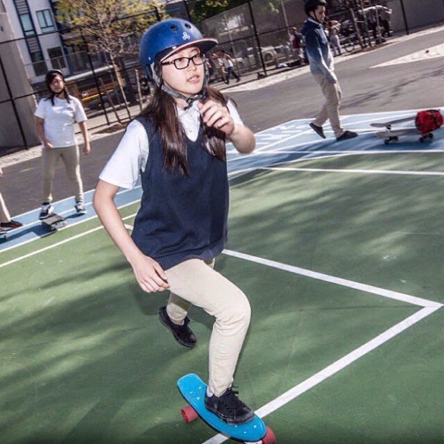 Show the world what you're made of. #skate #skater #sk8 #skateboard #skateboarding #shred #skatelife #streetskate #youth #community #fun #smiles #lifeskills #determination #skatergirl #skatetricks #nyc #citykid #mentor #volunteer #inspire #focus...