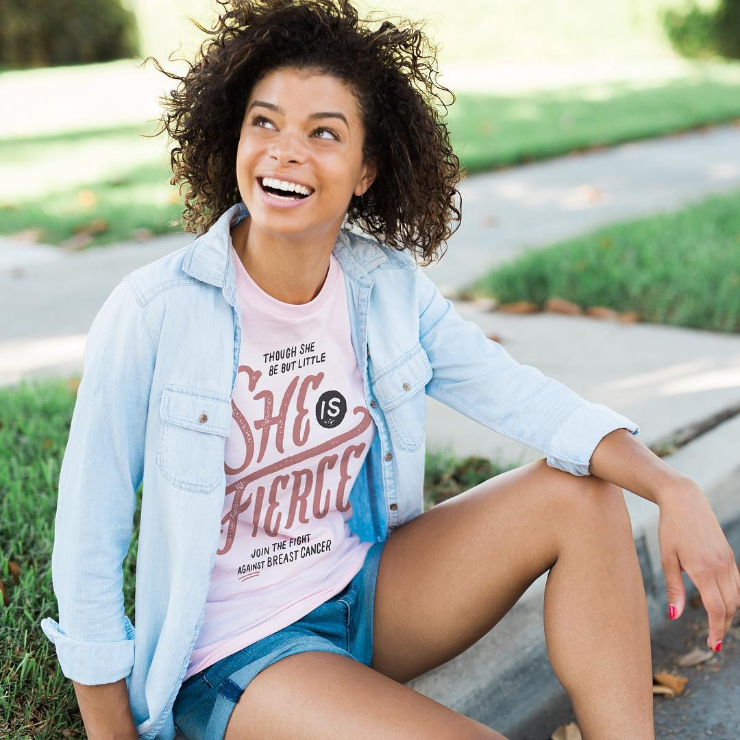 """Though she be but little, she is fierce!"" – William Shakespeare, A Midsummer Night's Dream Do you have a breast cancer survivor in your life? For every item purchased from @Sevenly's new collection this week, inspired by our cause, they will support..."