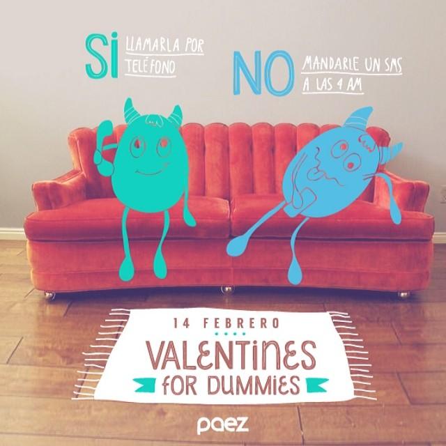 Como conquistarla sin morir en el intento #valentines #sanvalentin #paez #paezinspire #valentines4dummies