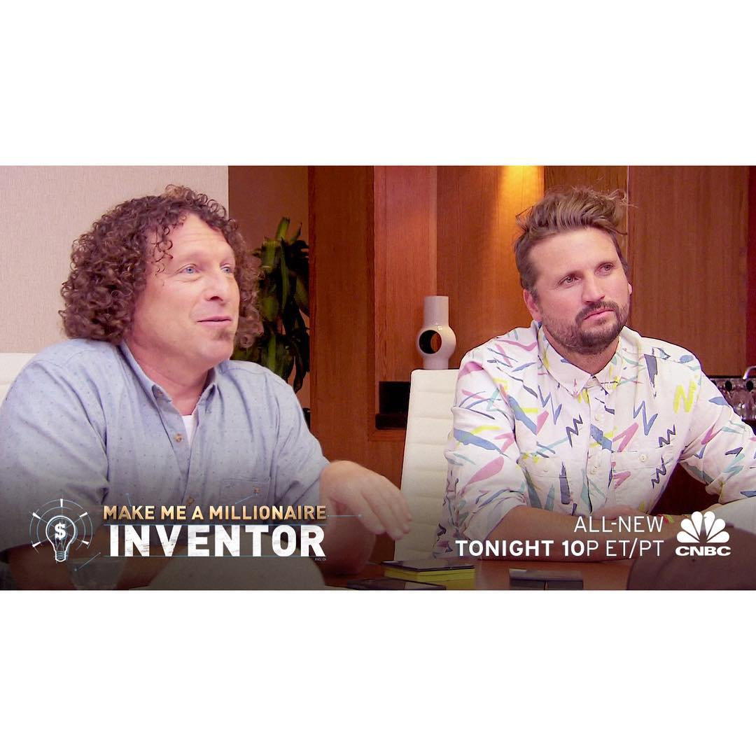 Tune into the new episode of Make Me A Millionaire Inventor tonight with @tonyfinngoingbig & @shaunneff!  10pm ET on CNBC  #MillionaireInventor #Neff