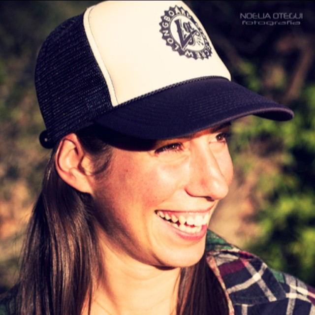 What do you think about our new logo & trucker hats? No, they don't make you go faster, they just make you look cooler. Get them at www.longboardgirlscrew.com/shop Support your scene supporters! @noeoteguifoto photo