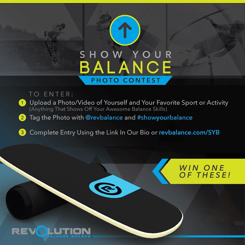 Only 1 DAY LEFT!  Enter using the link in our Bio or go to revbalance.com/syb