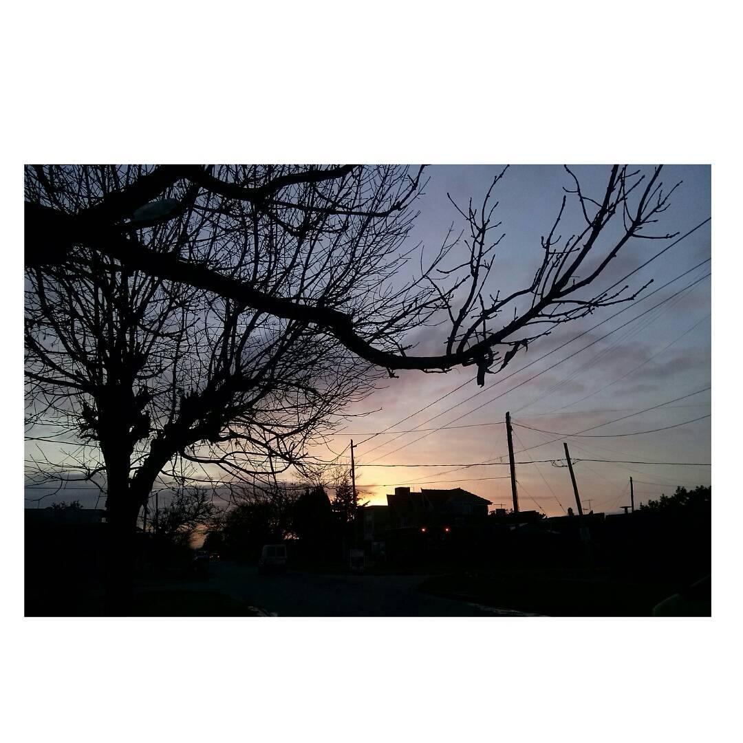 7:30 am. Buenos dias sol y empezamos a cursarR. #chauVacaciones #buongiono #buendia #BuenosAires  #sky #ofri #amanecer #sinfiltro