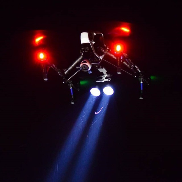 To help future with search and rescue, Garret Bryl has modified his #DJI #inspire1 with floodlights to help with nighttime searches.  Read how Garret helped with the recent northern Texas floods: http://bit.ly/DJITexasFlood  #dronesaregood. Let's keep...