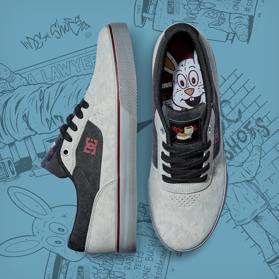 We're excited to introduce our collaboration with legendary skateboard artist @seancliver. Check out the capsule collection, including the Switch S, featuring Sean's custom artwork now at: dcshoes.com/dcxcliver. #DCshoes #DCxseancliver #seancliver