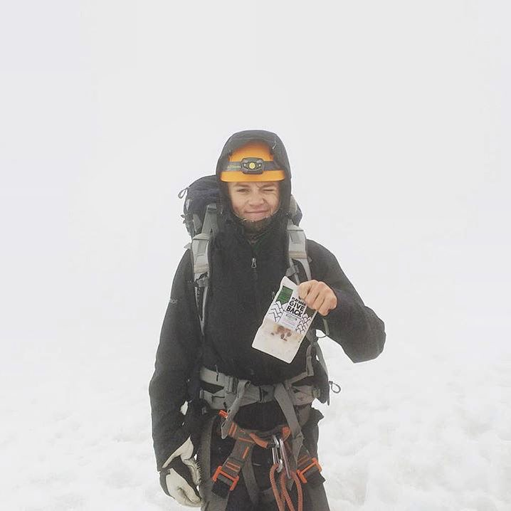 #PHGB intern @wilsondunn recently climbed Mt. Rainier, congrats on the 14er' dude!! #fueled #trailmix #travel #jointhemovement