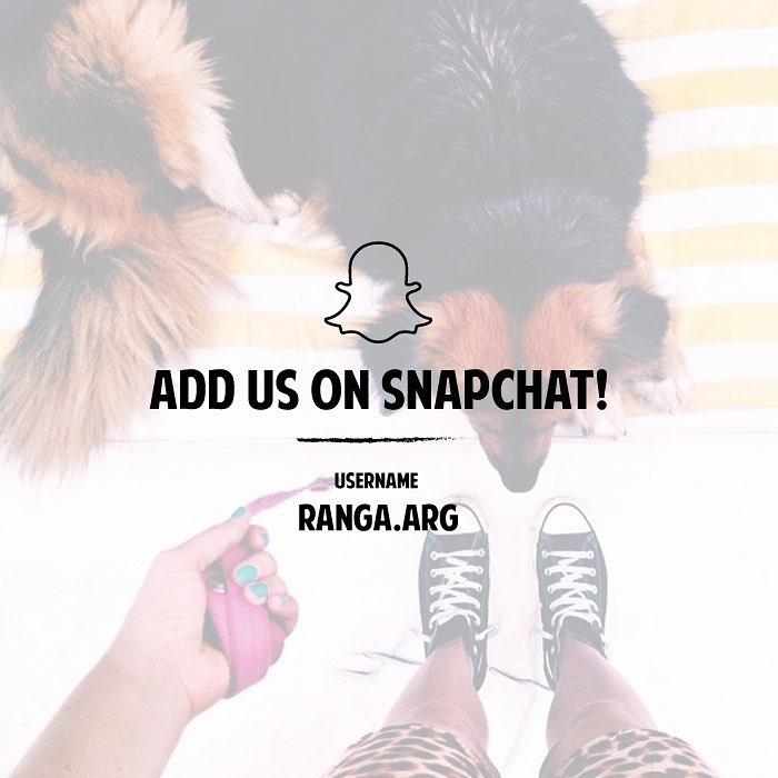 Seguinos en Snapchat
