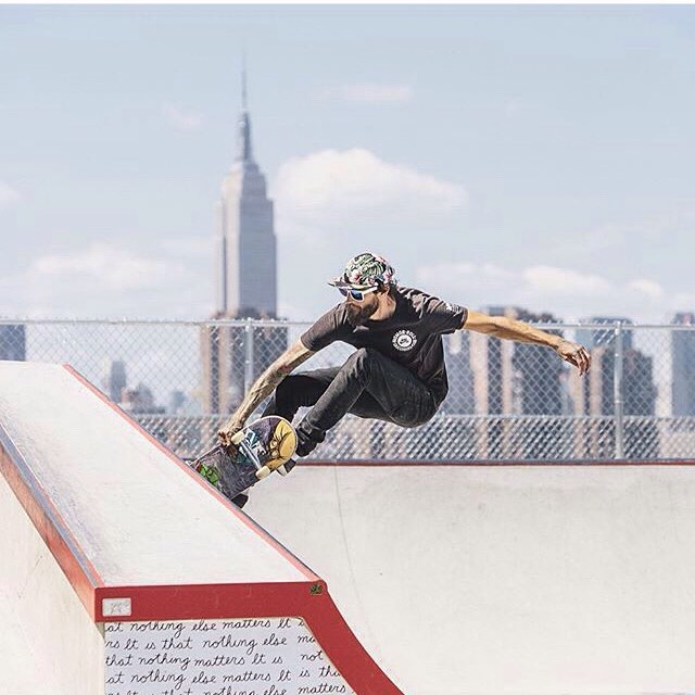 Repost from @emilywinikerphotography of Coach Shane at the @nike skate park in Williamsburg, Brooklyn (shot for @nikesb). Our coaches kill it!!