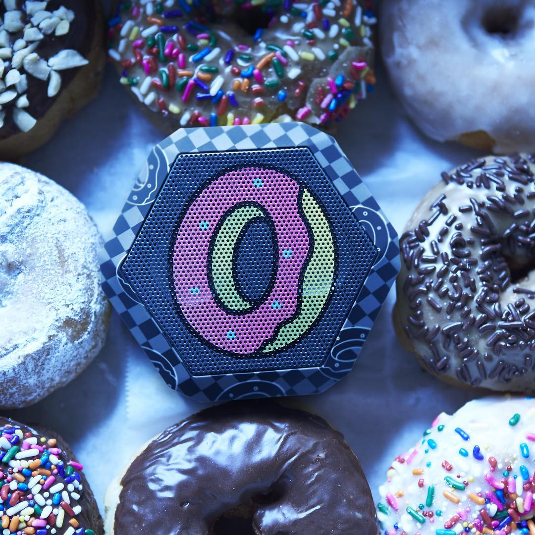 OFWGKTA X Boombotix Rex  Sweetness you can't say no to. #donuts #sprinkles #veryrare #boombotrex