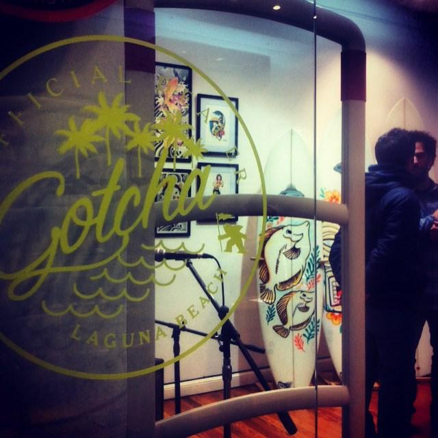 Ya #gotcha en @loriaskateshop #quilmes en la muestra de G Land Surfboards + Sebastian Cardaci