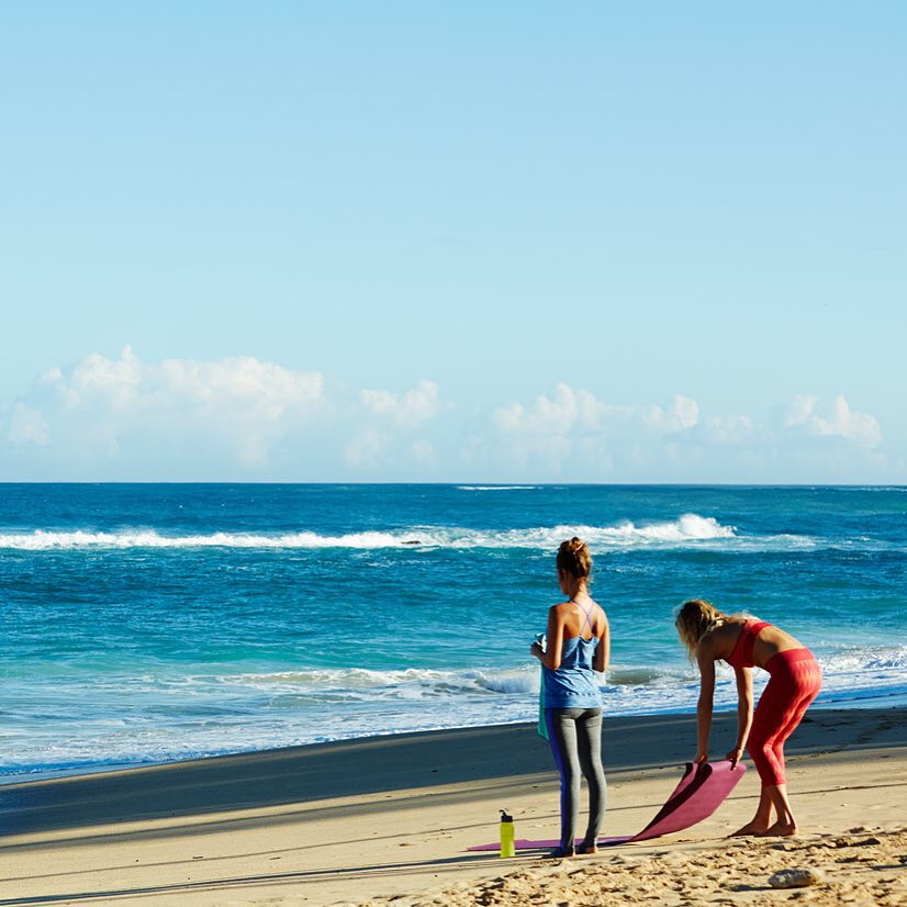 Get set to roll out the mat and stretch in style at #RUNSUPYOGA Huntington Beach this weekend.  Can't make it to the event? Tag #ROXYfitness in your training pics!