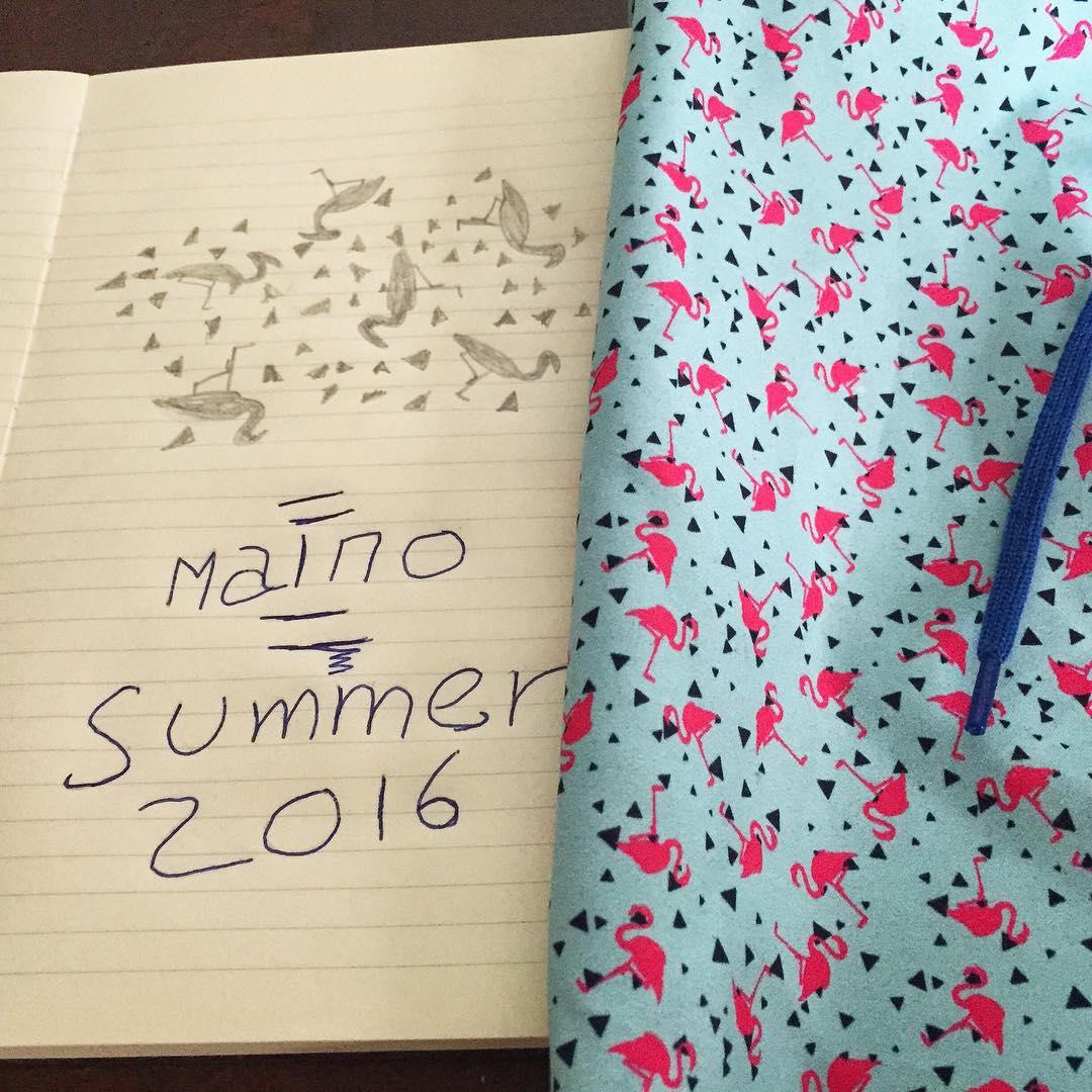 Los bocetos✏️ ya son una realidad, se viene la nueva temporada. #somosborna #borna #summer16 #verano16 #malmo #swimwear #clorhing #trajesdebaño