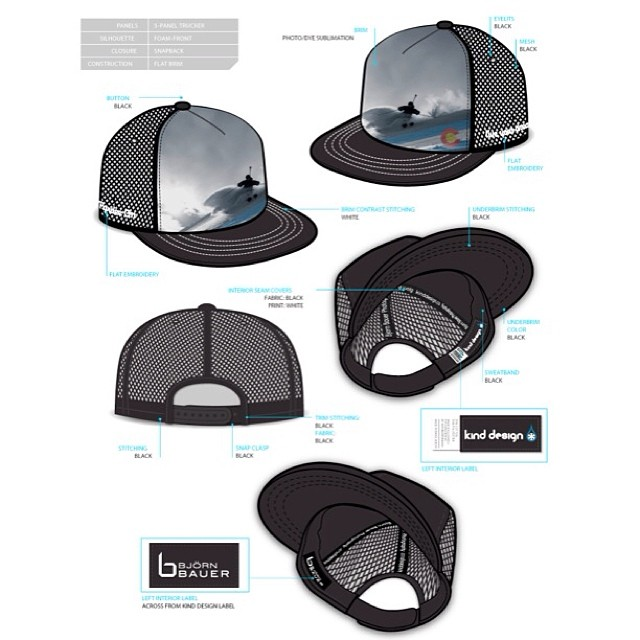Tony Seibert Tribute hats... benefitting avalanche awareness and potentially a charity in his honor.  #pardeeon #liveyourdream #kinddesign #bjornbauer