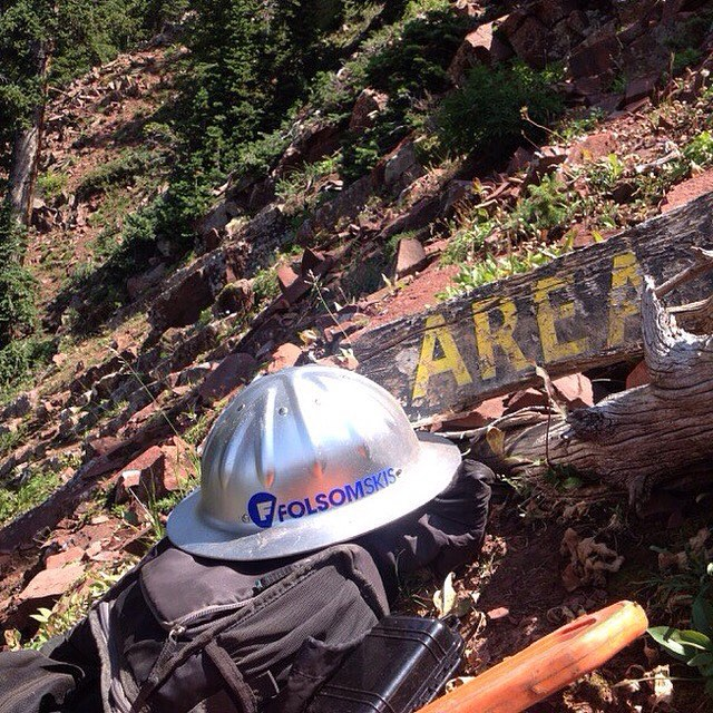 Aaron Smith of Aspen Highlands Ski Patrol is working hard this summer to clear some new #sick zones up on Highlands. Thanks for the hard work guys, can't wait to explore them this #winter #trailcrew @aspensnowmass