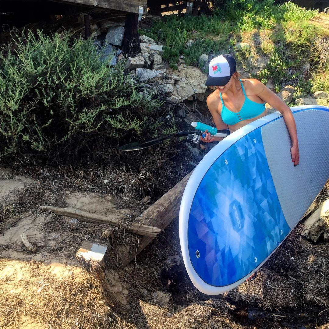 Something  radical happened yesterday... Stay tuned to see what #luvsurf and @coola_suncare have planned for you!! #lifeoutdoors #sup #coolasuncare #offroading #wheresthelaunchdock #doyouhaveapermit @gopro #goprohero