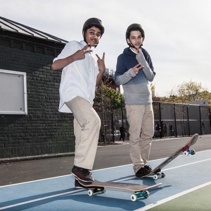 Who else is stoked for the weekend? #skate #skater #sk8 #skateboard #skateboarding #shred #skatelife #streetskate #youth #community #fun #smiles #lifeskills #determination #friendship #skatetricks #nyc #citykid #mentor #volunteer #inspire #focus...