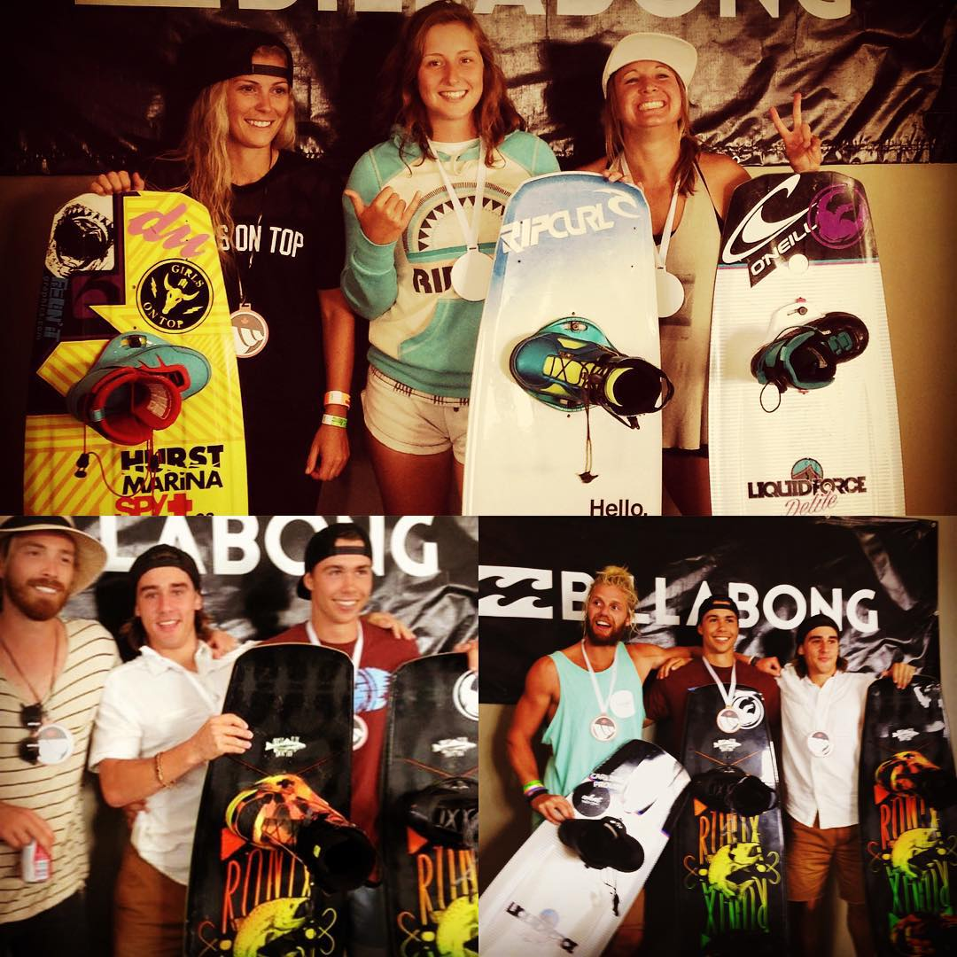 Cheers Ronix Canada! Holding it down at Canadian nationals! @michelaphillips @jess_polley @adamwhitaker  #ronixlove #ronix2015 #thebillboard #kinetikproject #oneloveinwake #fortifiedwithlakevibes