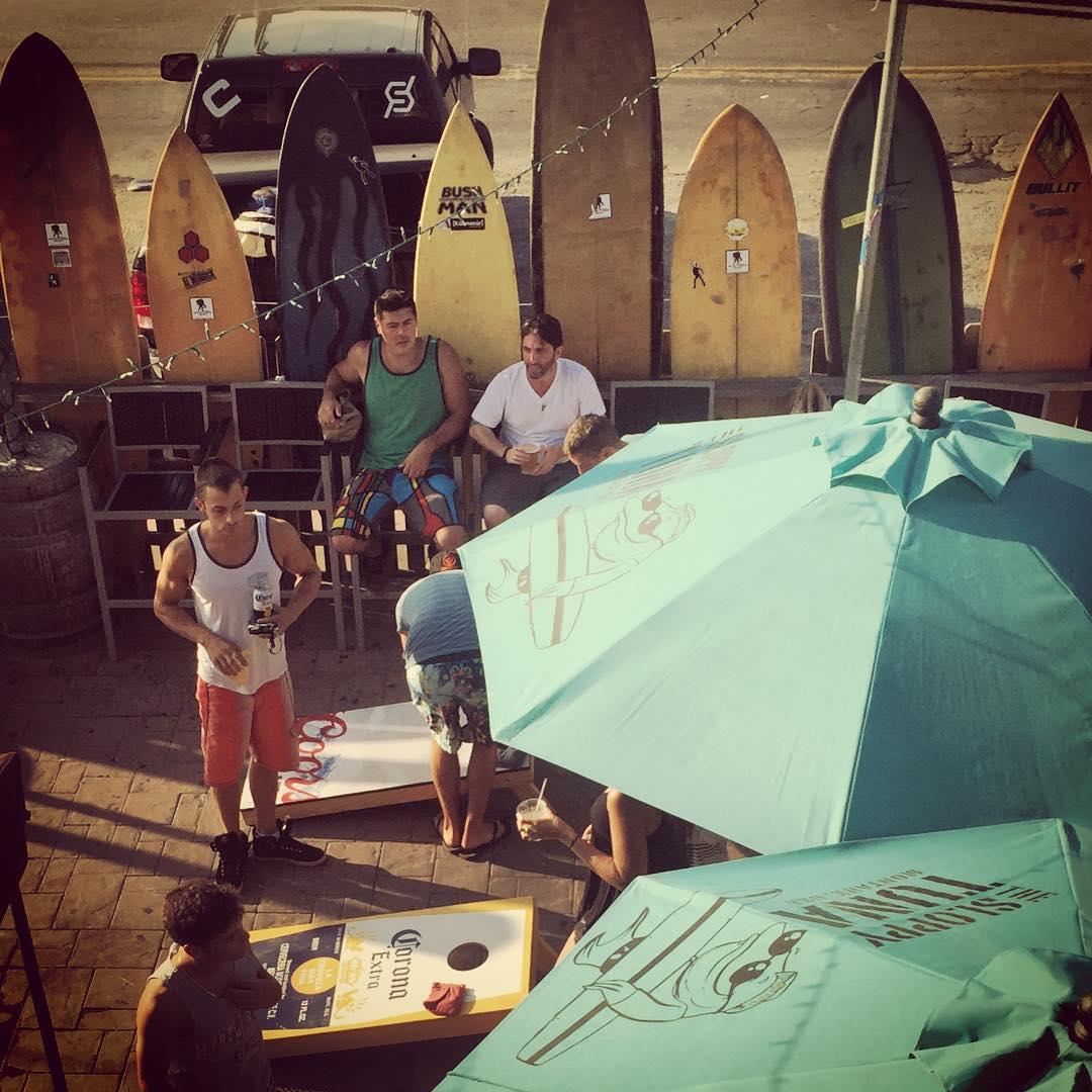 Repping @carinthiaparks and #fulsend @thesloppytuna #montauk #sloppytuna #MTK #surfing #summer #JustSendIt #WhoaBrah #surf #cornhole #beach @ryehoff @zayjmad191 @kateemcneil