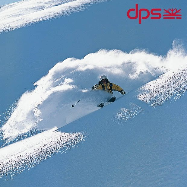 DPS Founder Stephan Drake surfing pow on an all-time day. Engelberg, 2003. Photo: @oskar_enander. #dpsroots