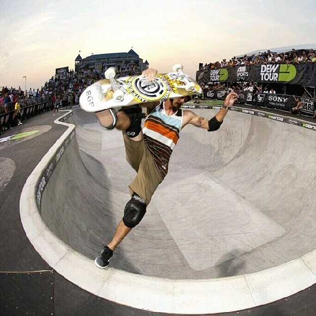 Hittin' the bowl!