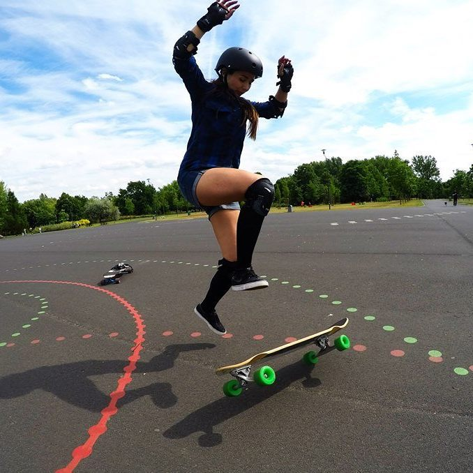 LGC Poland​ keeps growing and getting awesome. Check Ania Olszyna out!  Photo cred? Hope you all have a great weekend x  #longboardgirlscrew #womensupportingwomen #girlswhoshred #skatelikeagirl #aniaolszyna #lgcpoland #poland