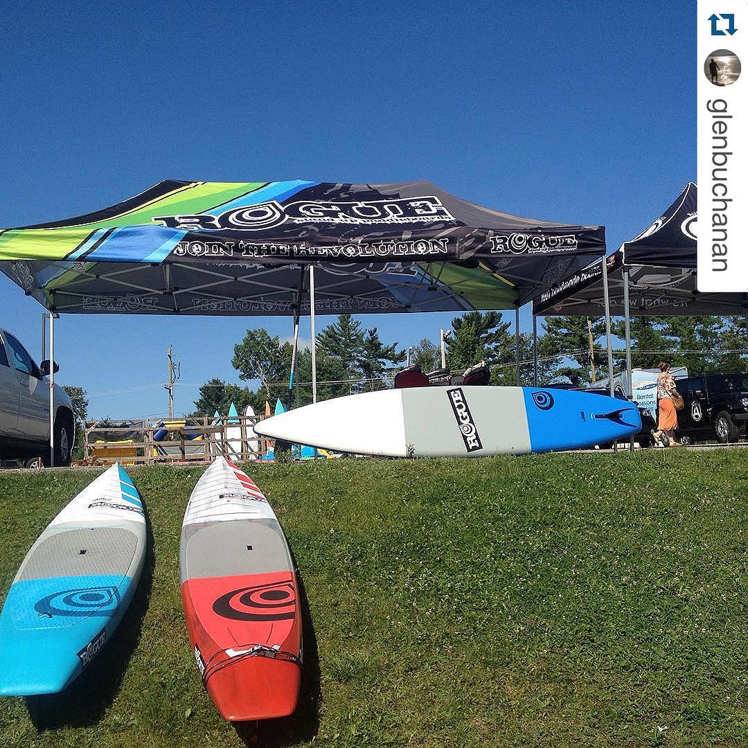 #Repost @glenbuchanan ・・・ While @joshriccio and @brian_s_meyer represent at #columbiagorge @triciagadsden and I doing work with @ontariosupseries at @muskokaoutfitters @roguesup #standup #SUP #paddle #playhardpaddleharder #nosuchthingastoomuchfreshair...