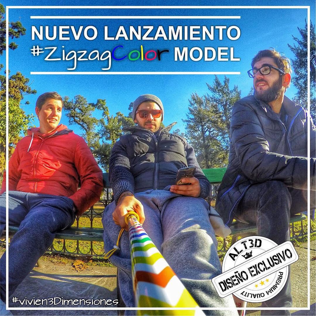 A T E N C I O N !!! Espectacular lanzamiento modelo #ZigZagCOLOR