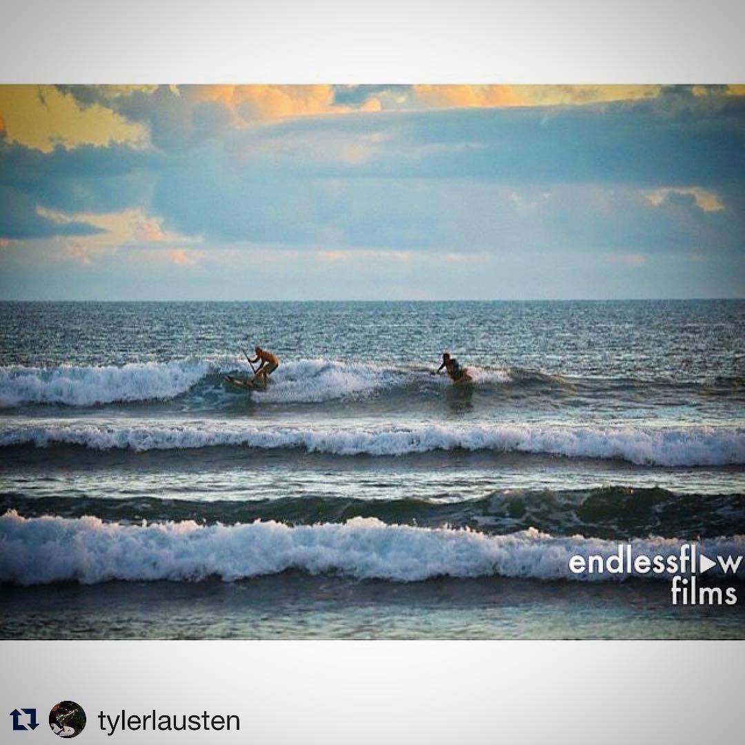 #Repost | #PartyWave with @tylerlausten | #Maui #OGG #Launiupoko #Surfing #Waves #Waveski #CrissCross #TLSurf @bjarnesalen
