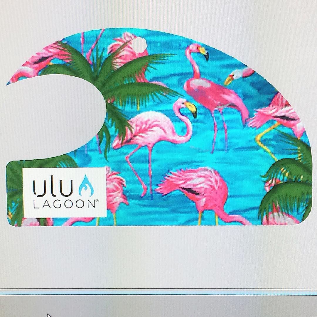 "The NEW ""Miami"" wave will be dropping soon at better smelling surf shops , boutiques and www.ululagoon.com soon! Let us know what you think!?"