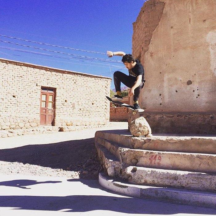 Tilcara: explorando #Argentina @santiagorossi #wallie #TrueToThis