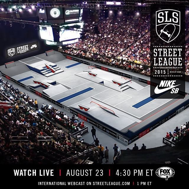 The road to the Street League Super Crown continues! Be sure to watch stop 2 of @streetleague World Tour today in New Jersey. Check out #Nixon team riders @prod84 @shecks @fgustavoo battle it out live on streetleague.com.