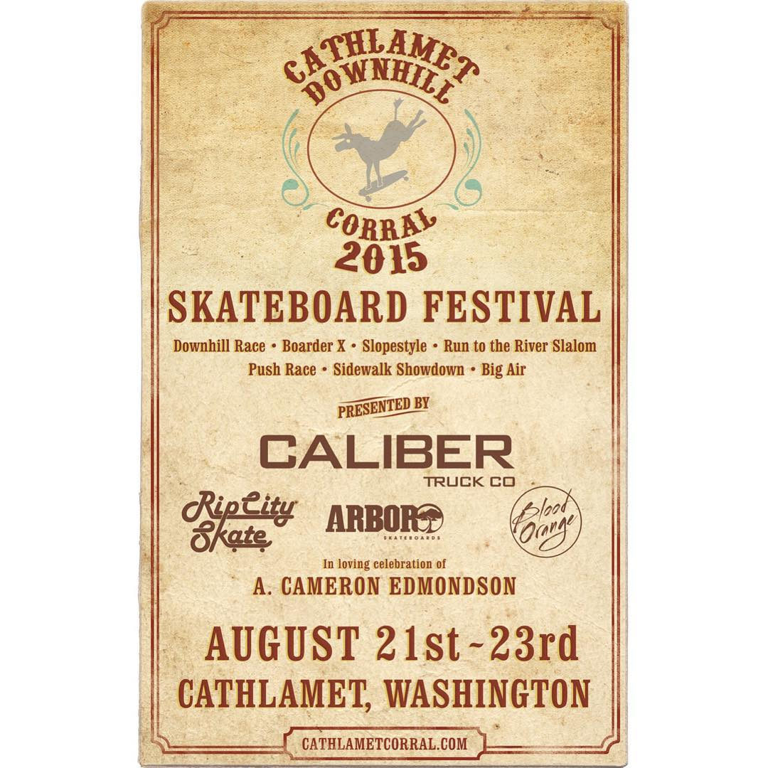 Final day of the @cathlametdhcorral!! Stoked to be the title sponsor for the last 3 years. Make sure to stop by and say what's up to our crew! @brandontissen @fillbackside @carmen_sutra @nebulas_nakanelua @fingerbangpdx