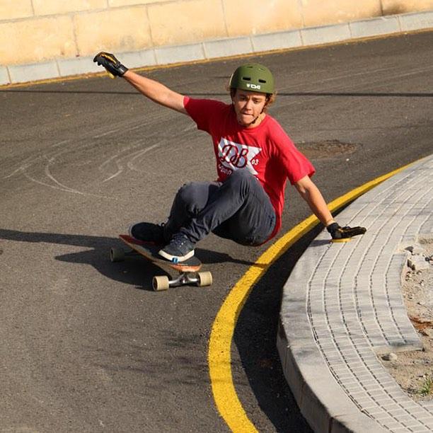 @toni_conte stylin' on the Stalker through the hills of Spain. #longboard #longboarding #longboarder #dblongboards #goskate #skateboard #skateeveryday