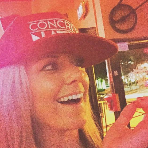 #ShoutOutSunday this week goes to @msalabamaus2014 who was havin' fun in our Crimson Swoon Units SnapBack! Lookin' good!  Remember, if you want a shoutout, tag us in your photos! We love to see how you wear our products.  #sos #concretenative #sk8life...