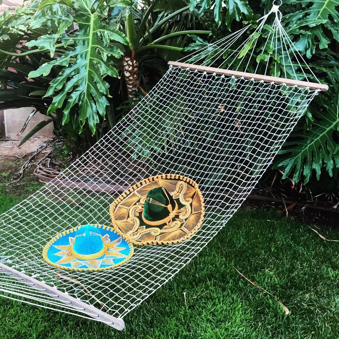 SUNDAY FIESTA // SIESTA #luvsurf #hammock #naptime #summertime #sunday