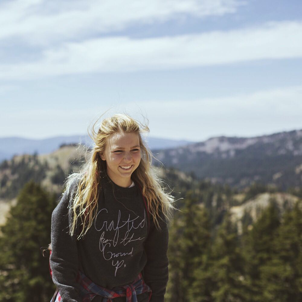 @naturallyjulia in our Crafted From The Ground Sweatshirt // available now at iwantproof.com!