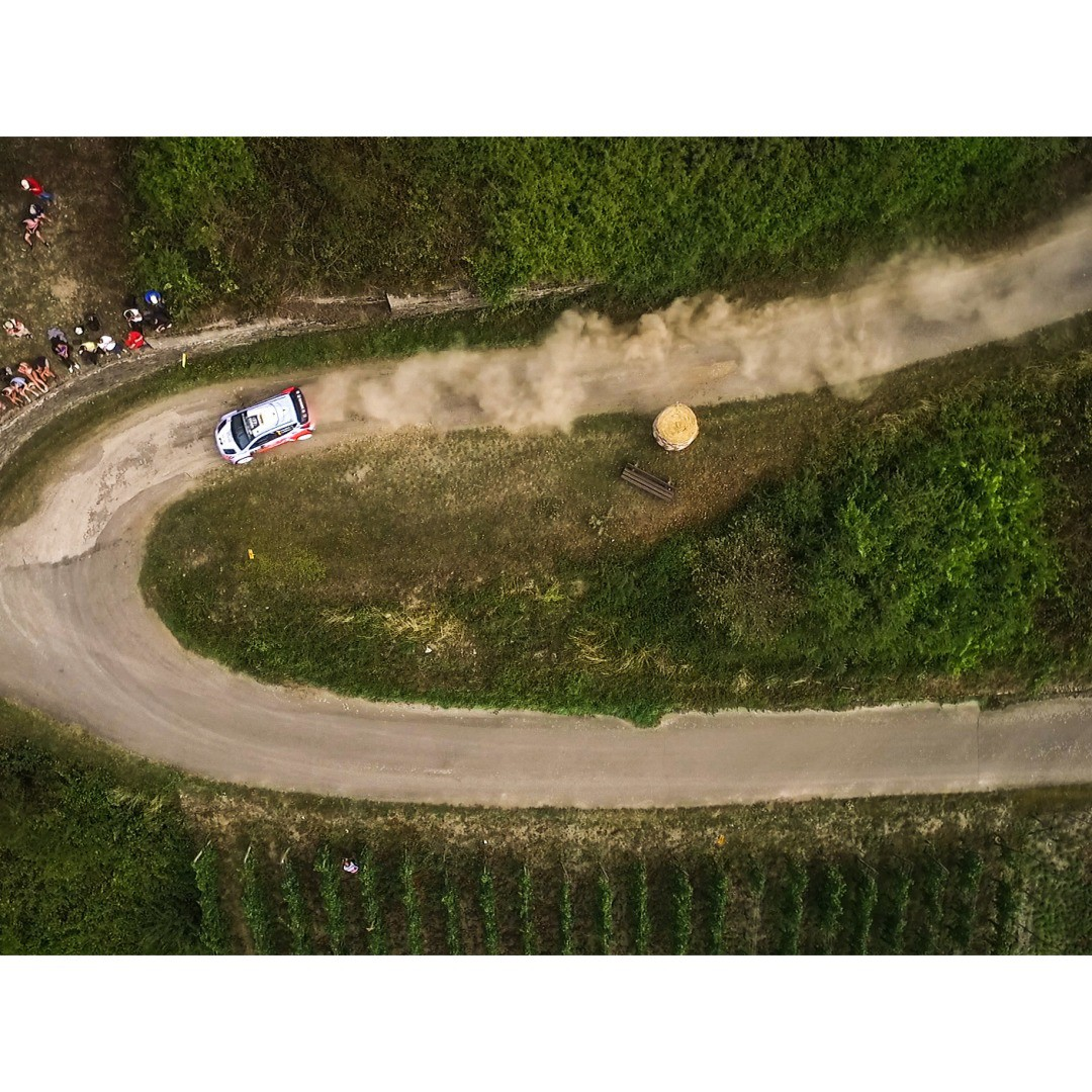 DJI and Skynamic (@skynamicdrone) spent the weekend at #WRC (@officialwrc) with the #DJI #inspire1 filming shots like these.  #IamDJI