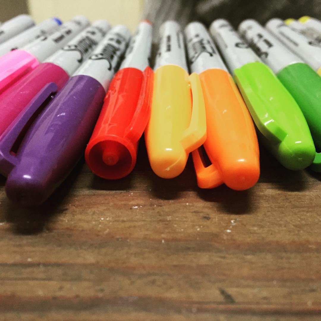 Rainbow is real. #darte cc @sharpie