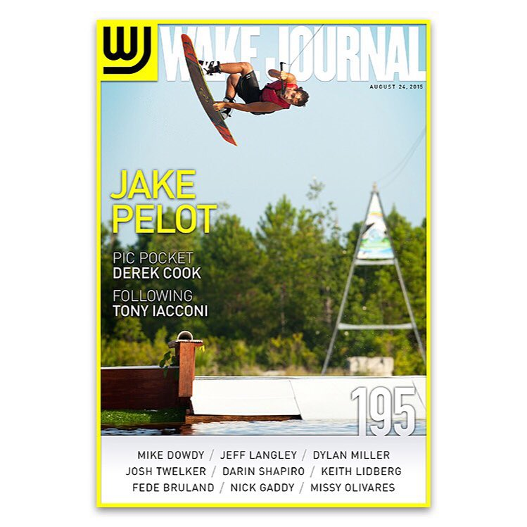 @jake_pelot lands the cover of the new @wakejournal, congrats! #ronix2015 #ronixlove #onewithwater #oneloveinwake #aquaticresearchanddevelopmentlab #fortifiedwithlakevibes