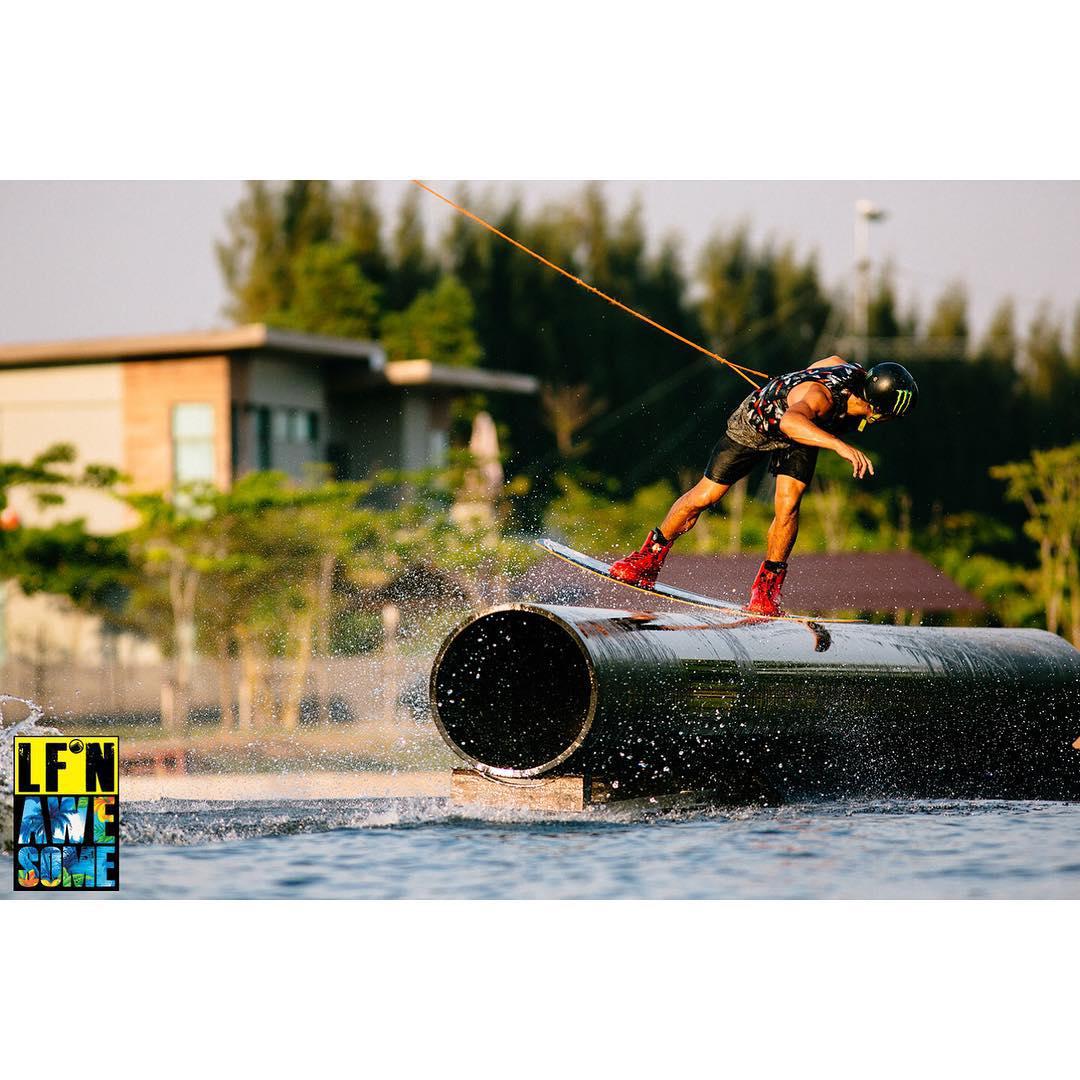 @danielgranttt gets #LFnAwesome at @thaiwakepark  LiquidForce.com/LFn