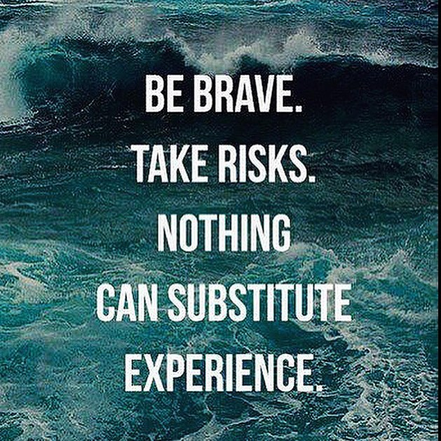 """Nothing can substitute experience!"" #quoteoftheday #revbalance #encouraging #morning #inspiration #bravery #experience #live #life #happiness #inspire #positive #encouraging #quote #ocean #livelife #positivity #bebrave #takerisks #positivevibes"