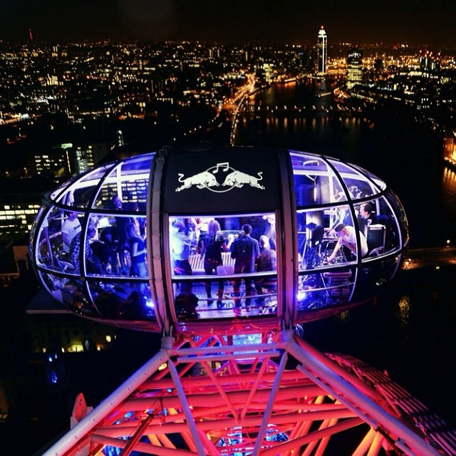 When your local spot isn't cuttin' it anymore… #tbt @RBMA @skreamizm @katyb & Artwork at #RevsInSound #LondonEye