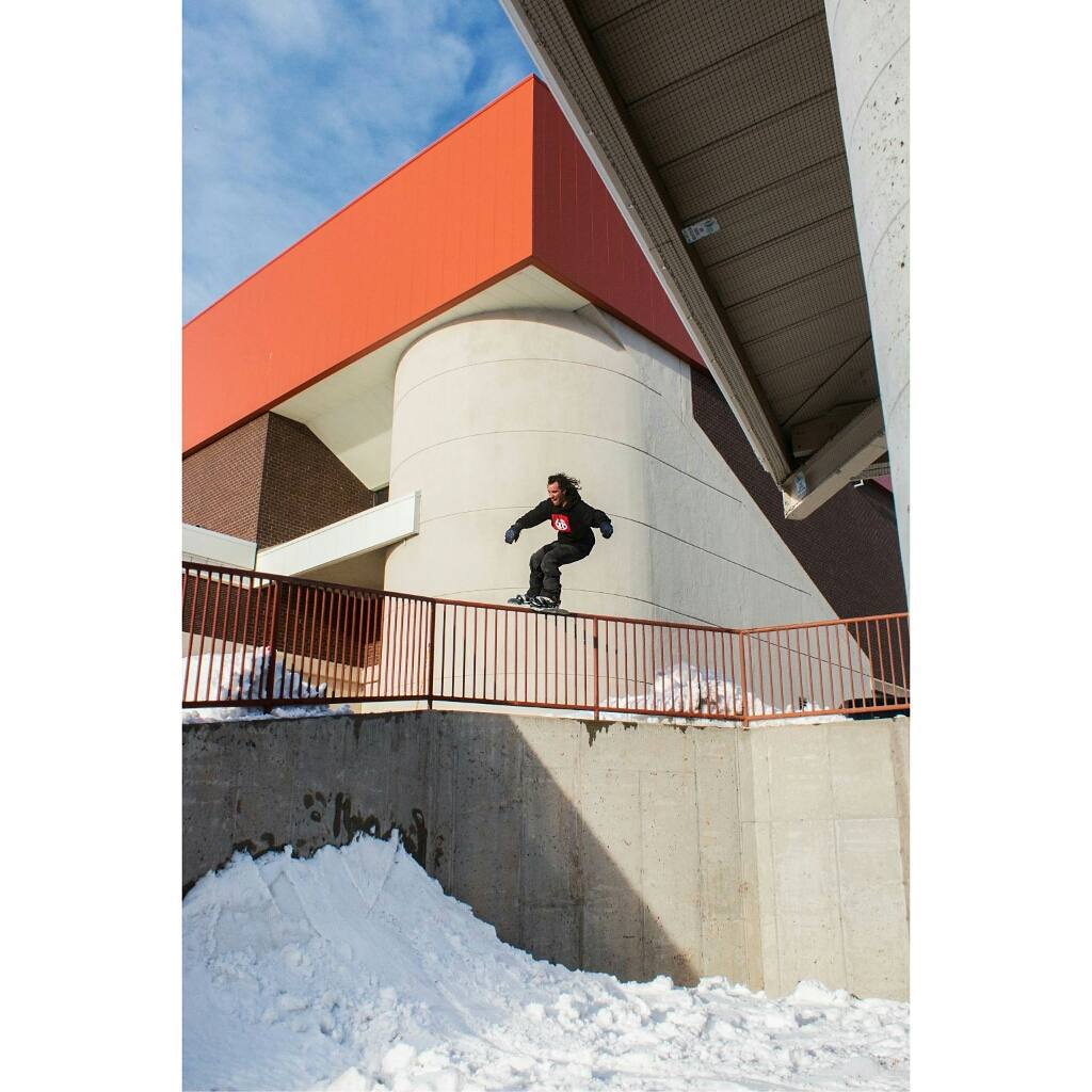 Winter is just around the corner. Are you ready for it? Rider: @jared__mcdaniel  Photo by: @mikeflaherty  Shout out to @pay__the__rent  #Snowboarding #FluxBindings #Street #Urban