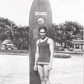 Out of water, I am nothing. // DUKE KAHANAMOKU // happy birthday to the man, the myth, the legend. #aloha #spirit #liveon #duke #hawaii