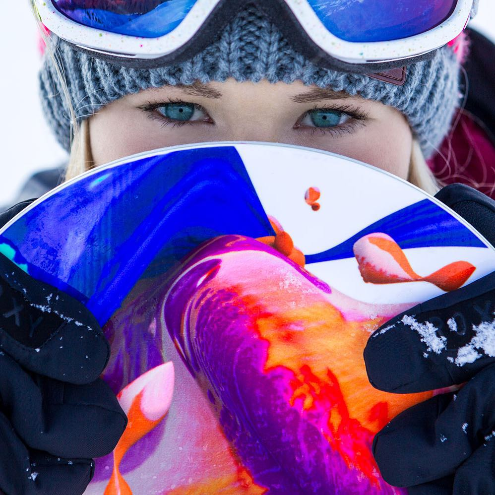 Wishing @ormerodkatie a very Happy Birthday! #ROXYsnow