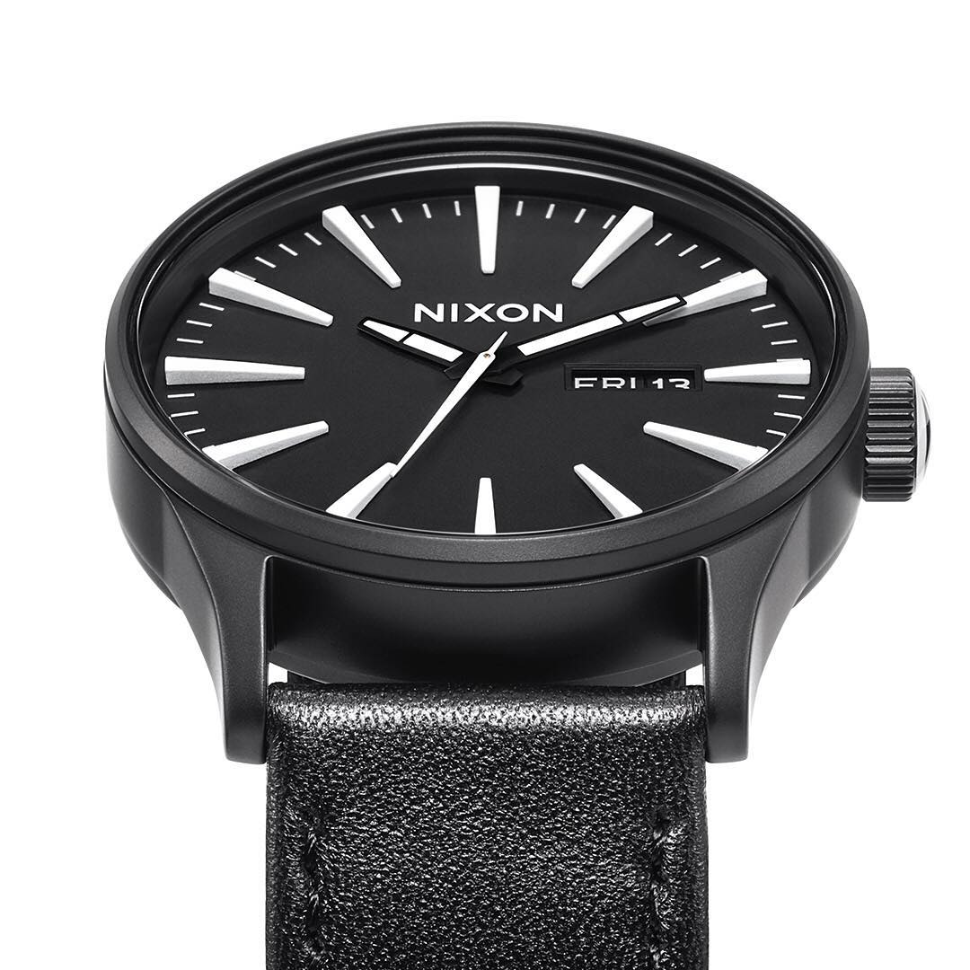 Doing more: It's your won't-quit, always obedient, ever-watchful, and timely guard against mayhem, welcome the #SentryLeather.  #NixonNow