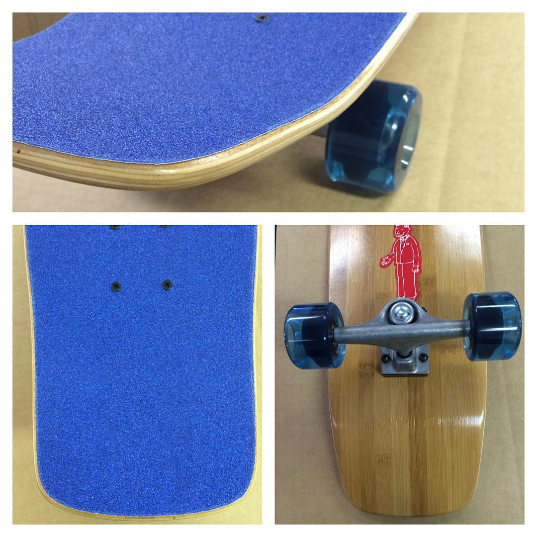 #Monday #blues got you? Grab a #square #tail #bamboo and #cruise away those blues. #skatelife #skateboarding #concretewave #longboarding #getbuck #love #skateshops #thankyouskateboarding #beach #summer #surfchecker
