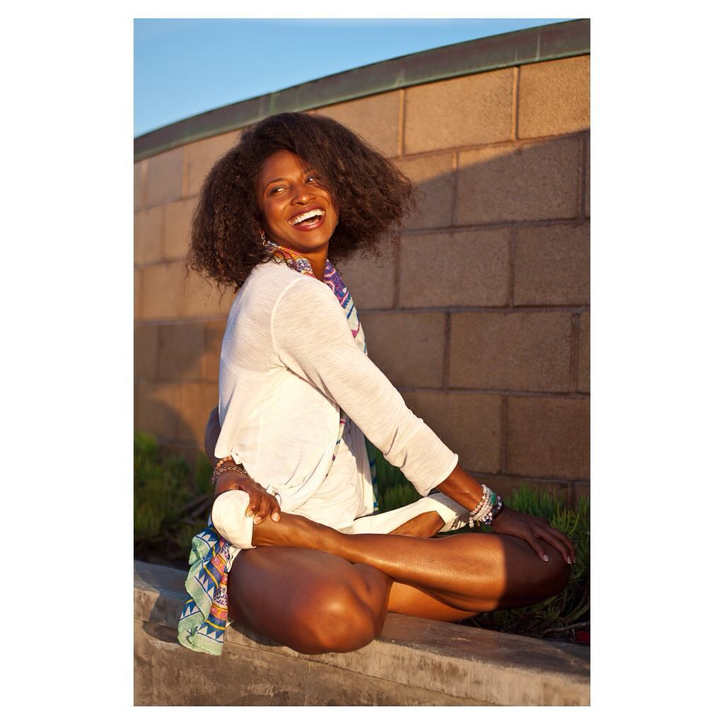The radiant @koyawebb striking a pose in the #KelapaShoe.